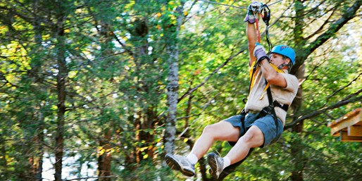 Dallas: $22 -- Trinity Forest Zip-Line Adventure for 1, Reg. $45