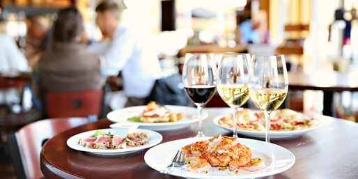 $39 -- The Wine Shop: Dinner for 2 w/Drinks, Half Off