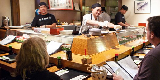 $45 -- Zagat: 'Heavenly Asian Fare' for 2 w/Sake, Reg. $80