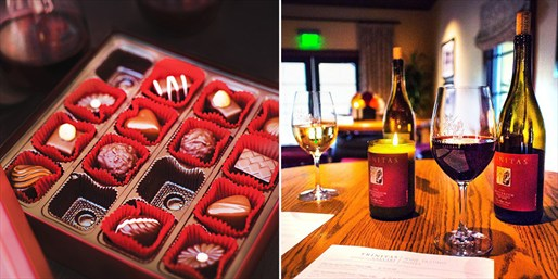 $20 -- Estancia La Jolla: Wine, Whiskey & Chocolate for 2