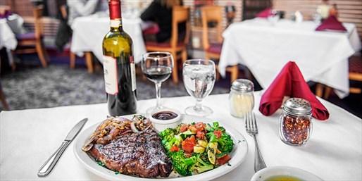 $55 -- Stratosphere: Dinner for 2 at 'Vegas Institution'