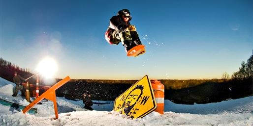 Raging Buffalo Snowboard Park Lift Tickets, 50% Off