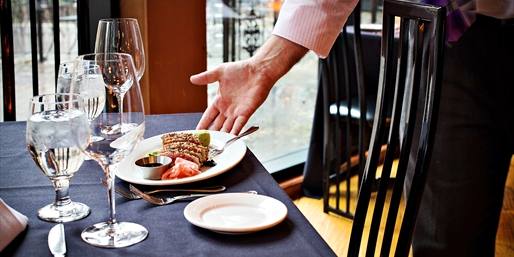 $20 -- Riverview Restaurant: 50% Off Food & Drinks for 2