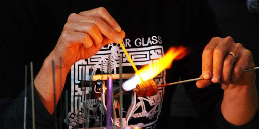 $39 -- CBS-Praised Glassblowing Class for 1, Reg. $85