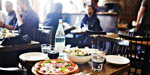 $35 -- NY Mag Critics' Pick: 50% Off Brick-Oven Pizza for 2