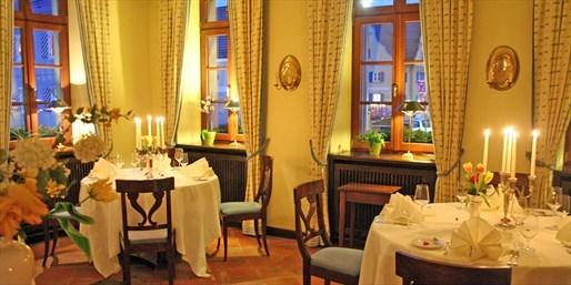 89 € -- Romantikhotel mit 4-Gang-Dinner in Schwaben, -55%