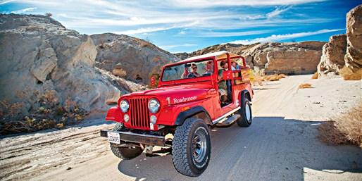 $170 -- Daytime or Sunset Stargazing Desert Jeep Tour for 2