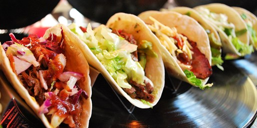 $25 -- Rock 'n' Taco: Tex-Mex & Margaritas for 2, 50% Off