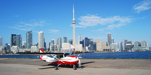 $125 -- Private Flight for up to 4 over Toronto, Reg. $267