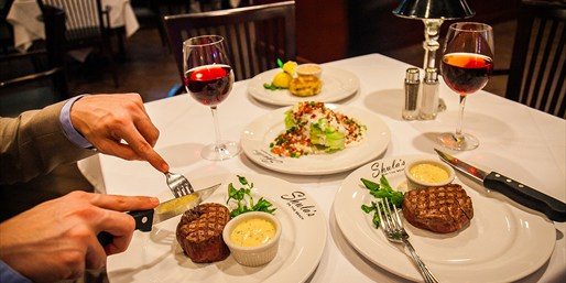 $79 -- Shula's on the Beach: Steak Dinner for 2, Reg. $145