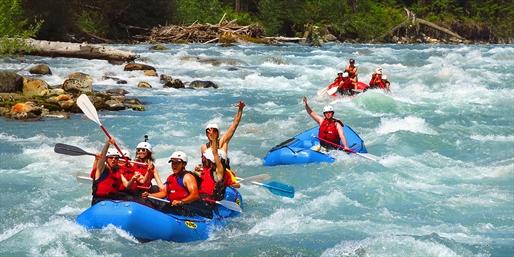 $39 -- Thrilling White-Water Rafting thru Summer, Reg. $95