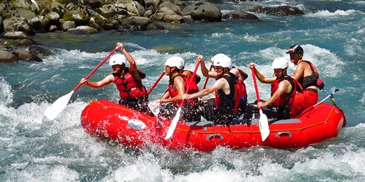 $29 -- Skagit River White-Water Rafting or Float Trip w/Wine
