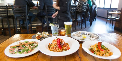 $29 -- Local Gem: Italian for 2 w/Wine & Oysters, Reg. $60