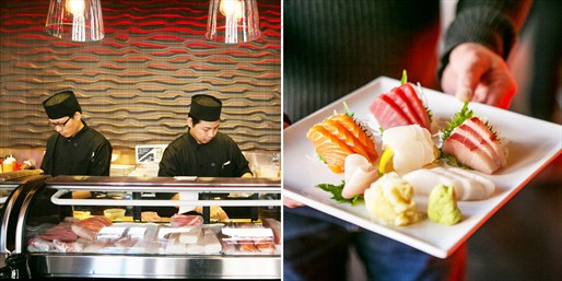 $29-$69 -- 'Excellent' Sushi or 5-Course Dinner for 2