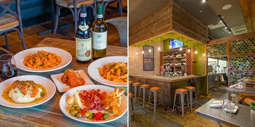 $49 -- Osteria Cibo: Italian Dinner for 2 w/Wine, Reg. $87