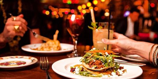 $25 -- Long Beach Latin Hot Spot: Half Off Dinner for 2