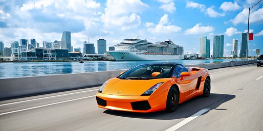 $99 -- Drive a Lamborghini on Miami Roads, Reg. $249