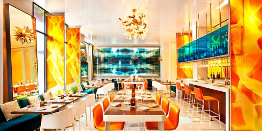 $69 -- W Hotel: Chef's Menu for 2 w/Cocktails, Reg. $142