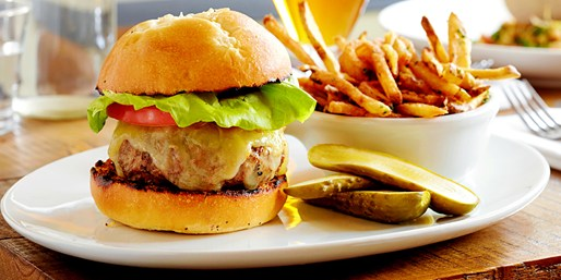 $15 -- Half Off Gourmet Burgers for 2 near Wrigley Field