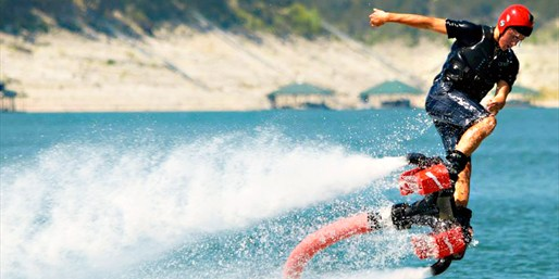 $69 -- Flyboard across the Waters of Lake Conroe, 50% Off