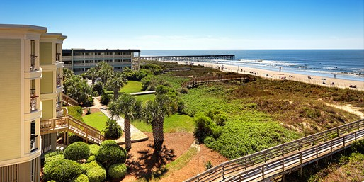 $99 -- S.C.: Isle of Palms Oceanfront Hotel, 40% Off