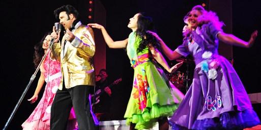 $30 -- Elvis Musical 'Burn'n Love' at Maui Theatre, Half Off