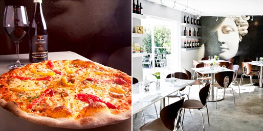 $39 -- Joey's Wynwood: 'Best Pizza' Dinner for 2 w/Wine