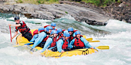 $59 -- Presale: Summer Whitewater Rafting in Banff, 50% Off