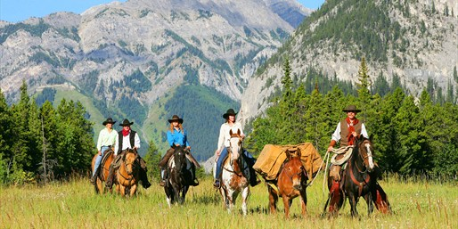 $316 -- Rockies: 2-Day Banff Horse Trek w/Meals, Reg. $520