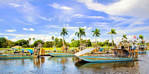 $13 -- Everglades Holiday Park: Airboat Alligator Adventure