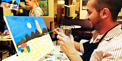 $29 -- Painting Classes at Various SF Venues, Reg. $50