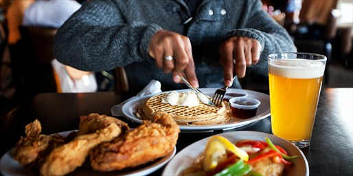 $29 -- Evanston: Chicken & Waffles for 2 w/Drinks, Reg. $55