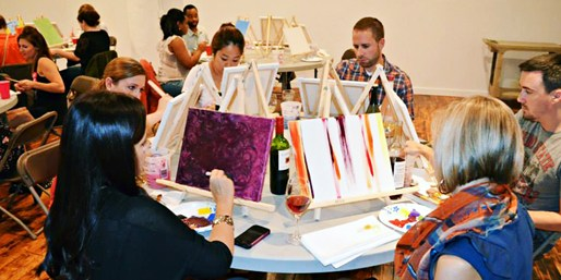 $19 & up -- BYOB Art Classes: Create Your Own Painting