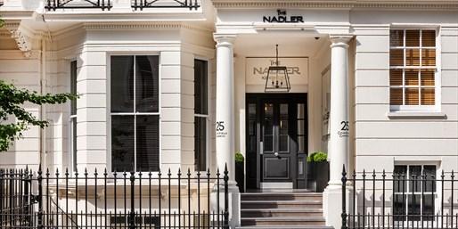 ab 150 € -- London: Schickes Hotel im Trendviertel, -45%