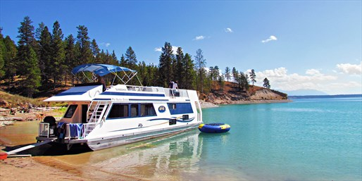 $1439 -- Alberta: 4-Day Houseboat for 10, Reg. $2672