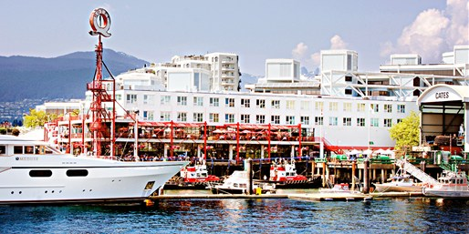 Travelzoo Deal: $99 -- North Vancouver Waterfront Hotel thru Summer, 45% Off