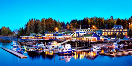 $161 -- 2-Night Oceanfront Tofino Stay w/Dining Credits