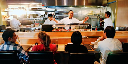 $75 -- 'Seattle's Best Sushi' Dinner & Drinks for 2, 50% Off