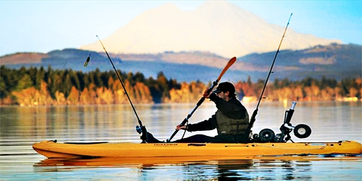 $59 -- Kayak Fishing Trips on Silver Lake thru Fall, 40% Off