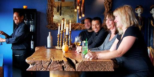 $69 -- Laguna 'Hot Spot': Dinner for 2 at Tabu Grill
