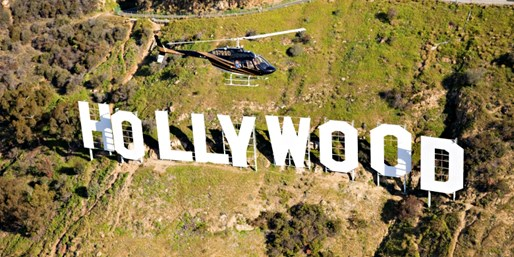 $249 -- Helicopter Tour for 2 over Hollywood Sign, Reg. $420
