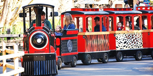 $29 -- Zoo Day for 4 w/Train & Carousel Rides, Reg. $63