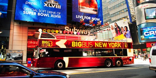 $32 -- 1-Day Hop-On Hop-Off Bus Tour of NYC, Reg. $49