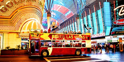 $36 -- Night Plus 2-Day Hop-On Hop-Off Bus Tour of Vegas
