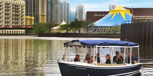$99 -- Chicago River Private Cruises for up to 10, Reg. $292