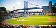 $9 -- Camden Riversharks Game incl. Hot Dog, Half Off