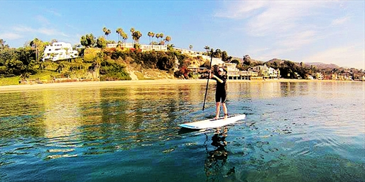$45 -- Paddleboard Tour Around Malibu Pier, Reg. $90