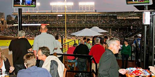$99-$129 -- Premium Cubs Rooftop incl. Food, Reg. $149-$200