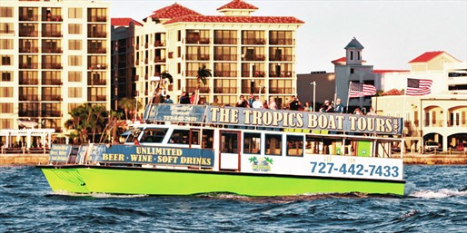 $29 -- Dolphin-Watching Cruise for 2 w/Drinks, Reg. $60