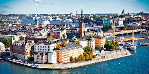 Scandinavia & London Fares, One Way, From New York City